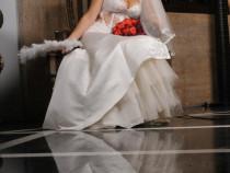Sexy dress for sexy bride Rochie de miresa tip sirena