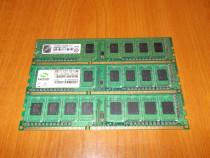 Memorii DDR3 pentru PC module de 1 si 2 Gb.