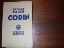 Panait Istrati - Codin (1935, coperti cartonate panzate)*