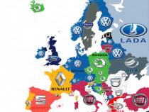 Instalez harti europa 2019 pt autoturisme Audi , Bmw ,VW etc