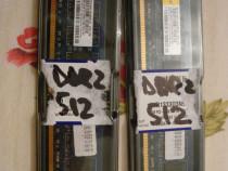 Placuţe memorie RAM DDR 2 de 512 MB