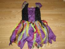 Costum carnaval serbare zana vrajitoare 4-5-6 ani