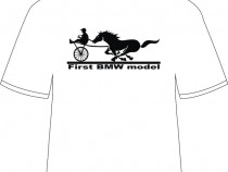"Tricou personalizat ""First BMW model"""