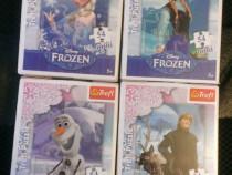 Set 4 Mini Puzzle Trefl 54 piese - Frozen