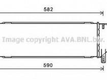 Radiator clima MSA5605 MERCEDES-BENZ S-CLASS (W221) S 300 (2