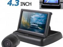 Pachet Asistenta la Parcare Monitor Rabatabil Cu Camera auto