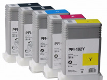 Cartuse compatibile Canon PFI-102 plotter cerneala IPF500