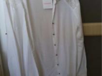 Camasa albă reserved, s, noua cu eticheta, dantela la spate