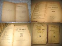 Carti franceze vechi coperti simple. Lot2- 15 buc.