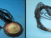Pandantiv vechi stil ArtNoveau- Capete de Femei.