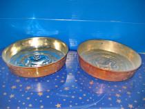 2 Forme prajituri cupru model calut, Akta Koppar.