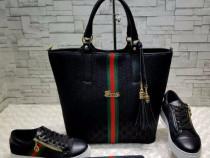 Geanta Gucci new model/portofel simplu atasat