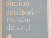 Scriitori romani de azi,Vol. I,Eugem Simion