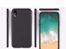 Iphone X XS XR 10 - Husa Slim 0.3mm Silicon Neagra
