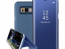 Samsung Note 8 Flip Case Oglinda Activ Negru, Albastru, Rose