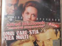 Marnie / Omul care stia prea multe de Alfred Hitchcock - DVD