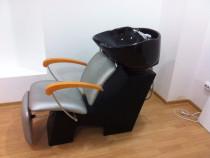 Echipamente salon coafura(scaune,unitate spalare,casca uscar