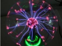 Glob electric cu fulgere plasmatice,jucarie decorativa fasci