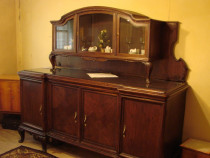 Mobila de sufragerie veche (cca. 80 ani)