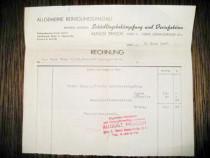 Act vechi-Rechnung-August Prasch 1974-21_19 cm.