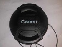 Capac obiectiv Canon LC-62, diametru 62mm, aparat foto DSLR