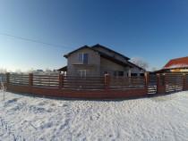 Casa P+M 230 mp, Zimandu-Nou, teren 1040mp