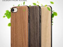 Husa slim piele aspect lemn Xoomz, iPHONE 8 / 7 fara clapeta