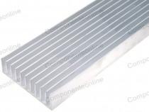 Radiator aluminiu, 500x124x35mm - 006239
