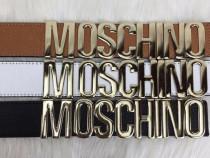 Curele Moschino/logo metalic auriu import Italia