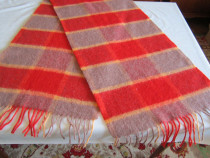 Fular unisex ecosez/in carouri din lana 100%