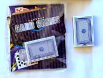 Set cărți de joc Card Games cu instrucțiuni accesorii cadou