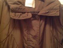 Jacheta matlasata de iarna captusita culoare maro