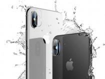 Folie sticla securizata ptr. camera iPhone X Hoco set 2 buc