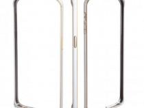 Husa Bumper Metal Samsung S6 Edge + Diverse culori NOU