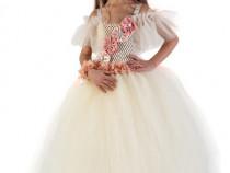 Rochita eleganta copii,rochite serbare,rochii lux,handmade