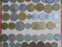 59 monede straine, europene, Rusia + URSS, Turcia si Israel