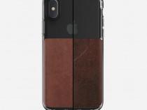 Husa piele iPhone X Nomad, piele, transparenta, NM218R0200