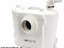 Pompa toaleta pentru subsol cu macerator H400