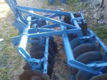 Disc tractor 4 bateri suspendat