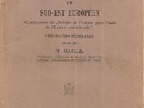 Revue historique du sud-est europeen, Nicolae Iorga, 1925