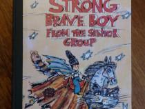 Strong brave boy from the senior group - Aurel Scobioala