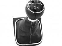 Nuca schimbator viteze + manson compatibil VW Golf 5 03-09