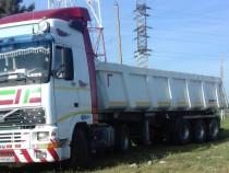 Transport nisip, balast, agregate cu basculanta 25mc Berceni