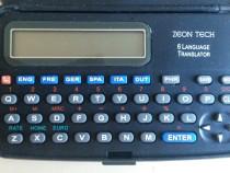 Translator digital in 6 limbi - Zeon Tech + baterie noua