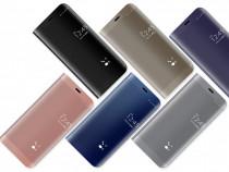 Husa Flip Stand Mirror Huawei P9 Lite 2017 / P8 Lite 2017