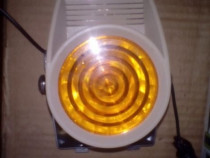 Avertizor sonor si luminos 12v pentru diverse utilizari, nou
