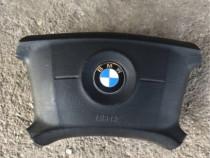 Volan din piele + airbag BMW e39