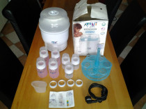 Philips avent - sterilizator electric express + 6 biberoane
