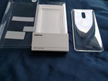 Husa de protectie Slim Crystal pentru Nokia 6, Transparenta