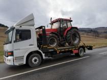 Tractari masini agricole, excavatoare, stivuitoare